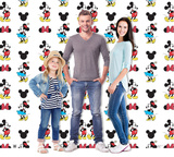 Mickey and Minnie Step and Repeat - Double Wide Cardboard Cutouts