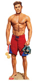 Matt Brody No Shirt - Baywatch Movie Cardboard Cutouts