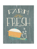 Farm Fresh Poster by Jo Moulton