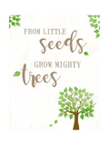 From Little Seeds Posters by Anna Quach