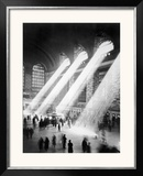 Sunbeams in Grand Central Station Framed Photographic Print