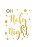 Oh Holy Night Premium Giclee Print by Anna Quach