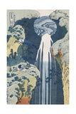 Amida Waterfall on the Kiso Highway, from series 'A Journey to the Waterfalls of all the Provinces' Giclee Print by Katsushika Hokusai