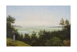 Landscape at Pichelswerder. 1814 Giclee Print by Karl Friedrich Schinkel