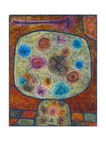 Flowers in stone (Blumen in Stein). 1939 Giclee Print by Paul Klee