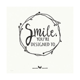 Smile Prints by Jo Moulton