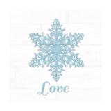 Snowflake II Posters by Anna Quach