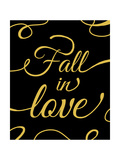 Fall in Love Prints by Anna Quach