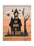 Eat, Drink and Be Scary Premium Giclee Print by Jo Moulton
