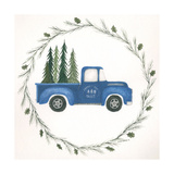 Old Blue Truck Prints by Cindy Shamp