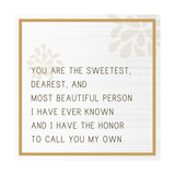 You are the Sweetest Poster by Anna Quach