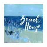 Beach House Poster by Pamela J. Wingard