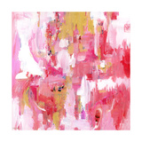 Abstract Dream Pink Gold Posters by Pamela J. Wingard