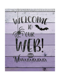 Welcome to Our Web Premium Giclee Print by Jo Moulton