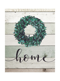 Home Wreath II Premium Giclee Print by Jo Moulton