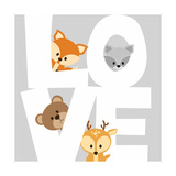 Woodland Love Prints by Anna Quach