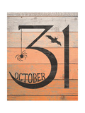 October Thirty First Poster by Jo Moulton