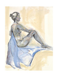Nude XI Prints by Anne Seay