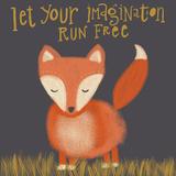 Fox Imagination Reproduction giclée Premium par Katie Doucette