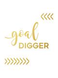Goal Digger Premium Giclee Print by Anna Quach