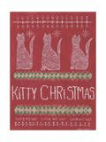 Kitty Christmas Art by Cindy Shamp