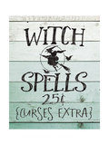 Witch Spells Premium Giclee Print by Jo Moulton