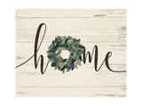 Home Wreath Poster by Jo Moulton