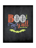 Boo Y'all Posters by Jo Moulton