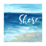 Shore By the Sea Poster by Pamela J. Wingard