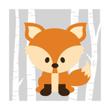 Woodland Fox Posters by Anna Quach