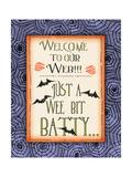 Batty Posters by Jo Moulton