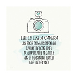 Life is Like a Camera Poster by Jo Moulton