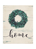 Home Wreath Premium Giclee Print by Jo Moulton