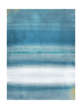Blue Abstract Poster by Linda Woods