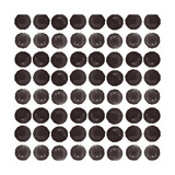 Black Circles Pattern Posters by Linda Woods