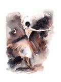 Ballerina II Posters av Sophia Rodionov