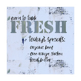 Fresh - Today's Special Posters by Pamela J. Wingard