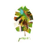 Peace Leaf Prints by Pamela J. Wingard