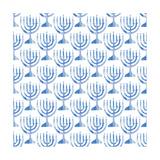 Menorah Pattern Prints by Linda Woods