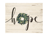 Hope Wreath Premium Giclee Print by Jo Moulton