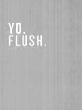 Yo Flush Prints by Linda Woods