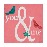 You & Me Prints by Shanni Welsh