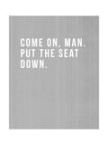 Come On, Man Print by Linda Woods