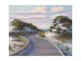 Boardwalk at The Beach Premium Giclee Print by Jill Schultz McGannon