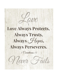Never Fails Prints by Linda Woods