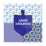 Happy Hanukkah Poster by Linda Woods