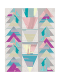 Geometric Triangle II Posters by Shanni Welsh