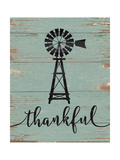 Thankful Windmill Poster by Jo Moulton