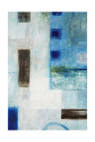 Blue City Blocks Prints by Chris Mills