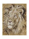 Safari Lion Poster by Chad Barrett